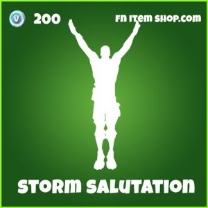 Uncommon Storm Salutation Emote