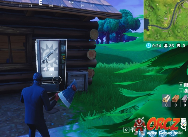 Loot Lake Fortnite Vending Machine in E4