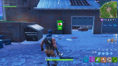 Junk Junction Fortnite Vending Machine in B2