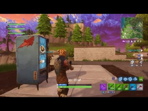 Snobby Shores Fortnite Vending Machine in A5