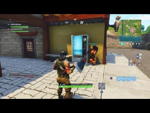 Lucky Landing Fortnite Vending Machine in F10