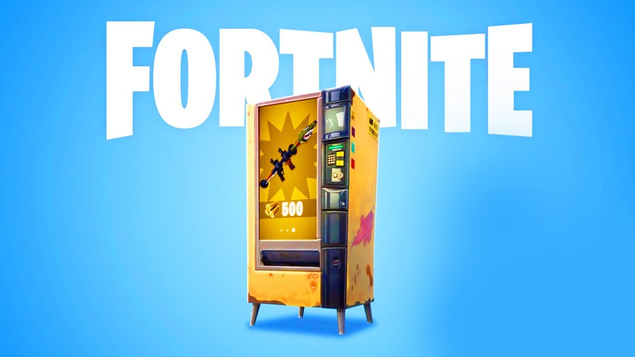 The Chair Fortnite Vending Machine in D8