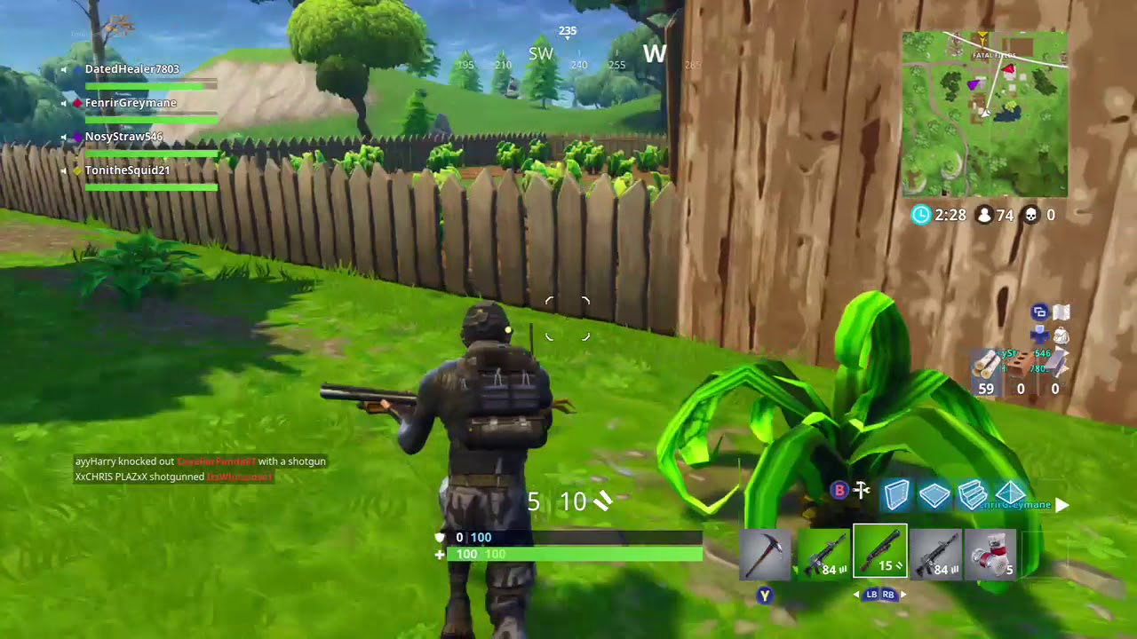 Fatal Fields Fortnite Vending Machine in F8
