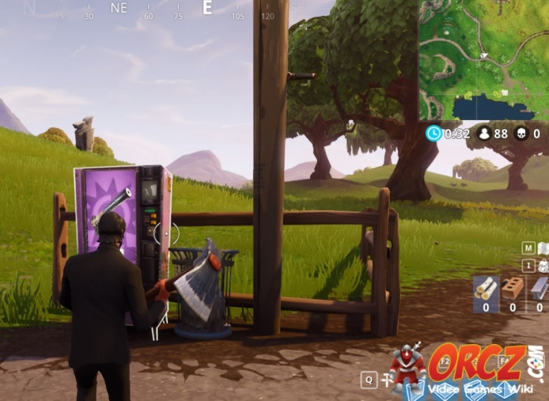 Anarchy Acres Fortnite Vending Machine in E3