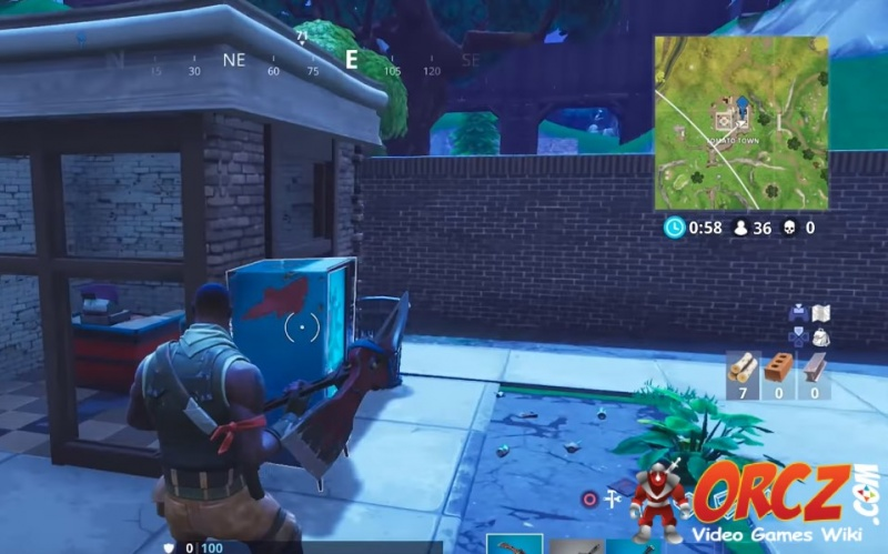 Tomato Town Fortnite Vending Machine in G3