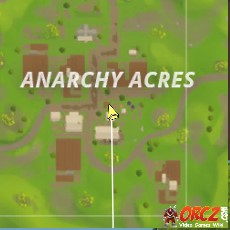 Anarchy Acres Fortnite Ammo Crate in F3