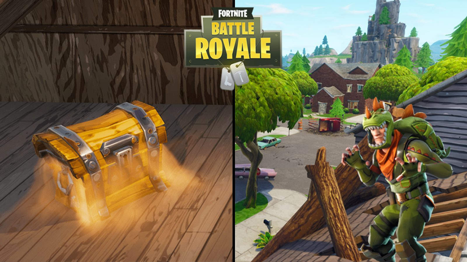 Salty Springs Fortnite Chest in G7