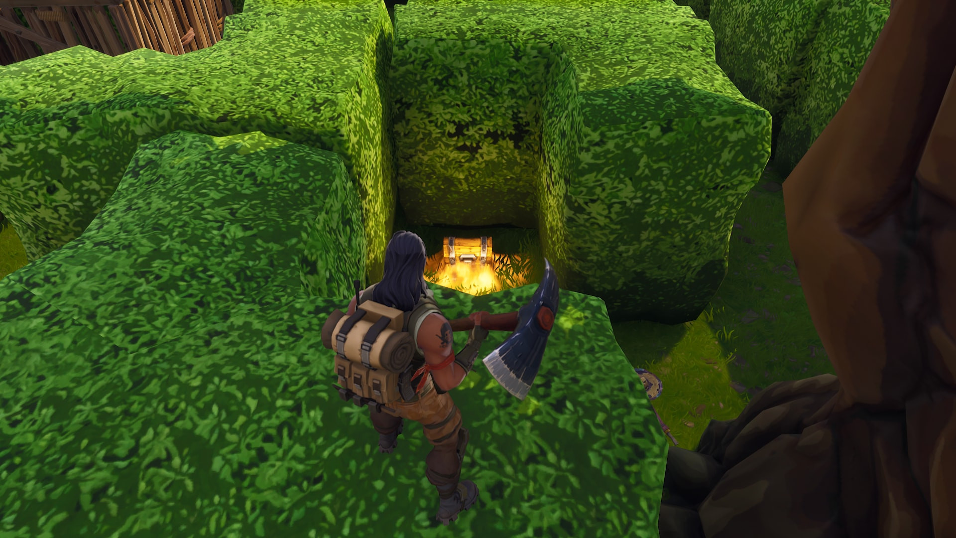 Wailing Woods Fortnite Chest in I4